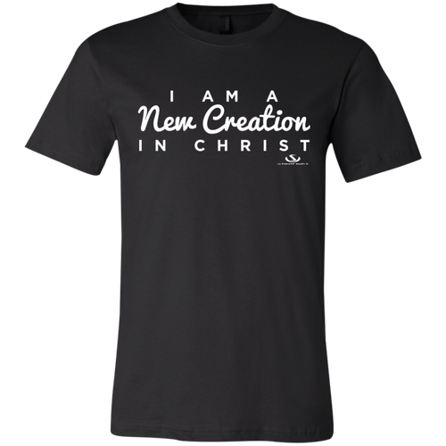 I AM A NEW CREATION IN CHRIST Jersey Short-Sleeve T-Shirt