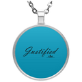 JUSTIFIED Circle Necklace