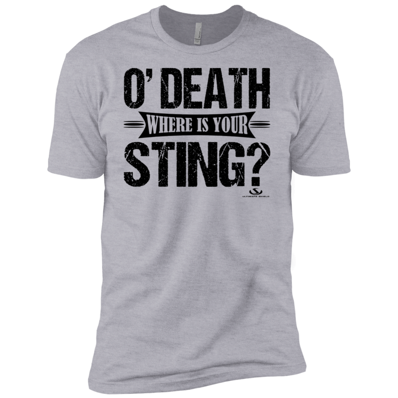 O' DEATH WHERE IS YOUR STING Premium Short Sleeve T-Shirt