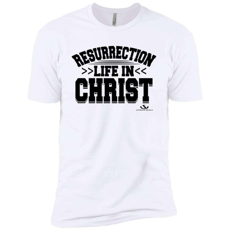 RESURRECTION LIFE IN CHRIST Premium Short Sleeve T-Shirt