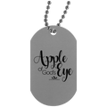 APPLE OF GOD'S EYE Silver Dog Tag