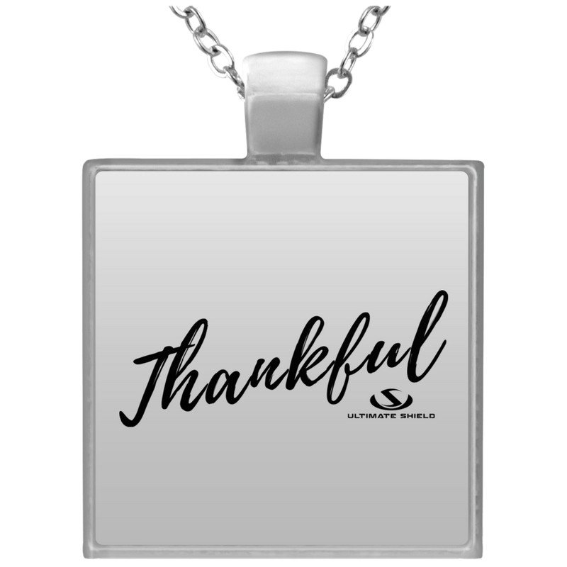 THANKFUL Square Necklace