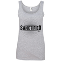 Sanctified Ladies' 100% Ringspun Cotton Tank Top