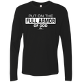 PUT ON THE FULL ARMOR OF GOD Men's Premium LS