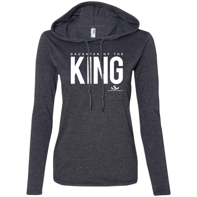 DAUGHTER OF THE KING Ladies' LS T-Shirt Hoodie
