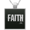 FAITH Square Necklace