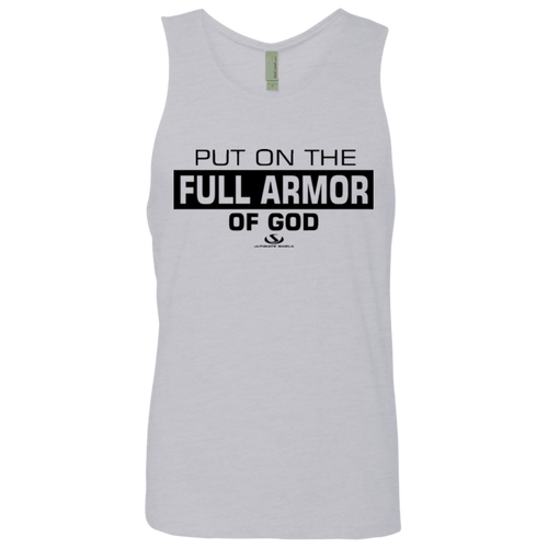 PUT ON THE FULL ARMOR OF GOD Men's Cotton Tank