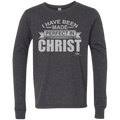 I HAVE BEEN MADE PERFECT IN CHRIST Youth Jersey LS T-Shirt