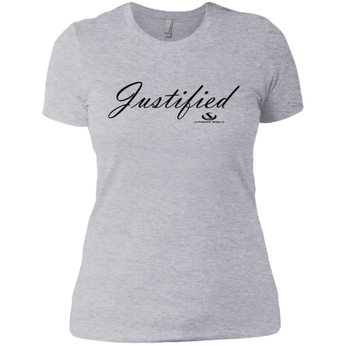 JUSTIFIED Ladies' Boyfriend T-Shirt