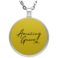 AMAZING GRACE Circle Necklace