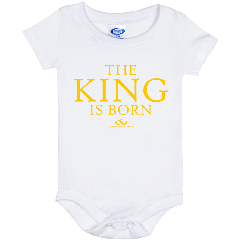 THE KING IS BORN Onesie 6 Month