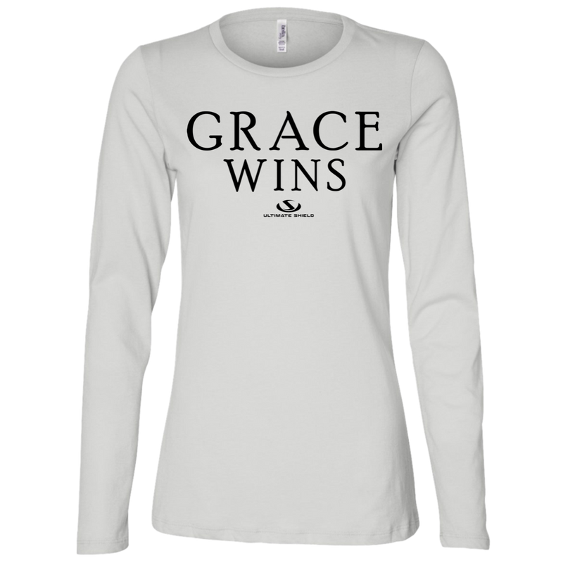 GRACE WINS Ladies' Jersey LS Missy Fit