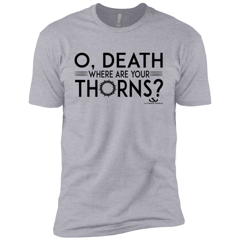 O' DEATH WHERE ARE YOUR THORNS Premium Short Sleeve T-Shirt