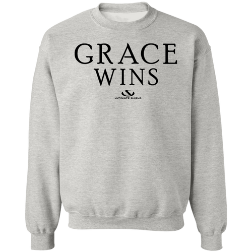 GRACE WINS LADIES Crewneck Pullover Sweatshirt  8 oz.
