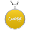 GRATEFUL Circle Necklace