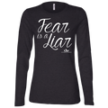 FEAR IS A LIAR Ladies' Jersey LS Missy Fit