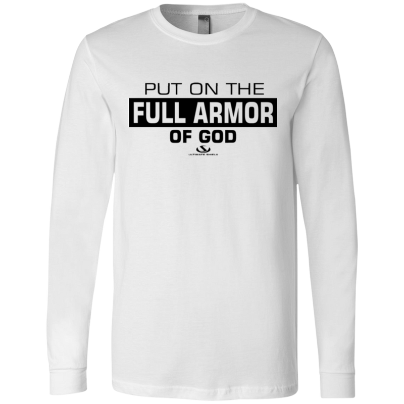 PUT ON THE FULL ARMOR OF GOD  Men's Jersey LS T-Shirt