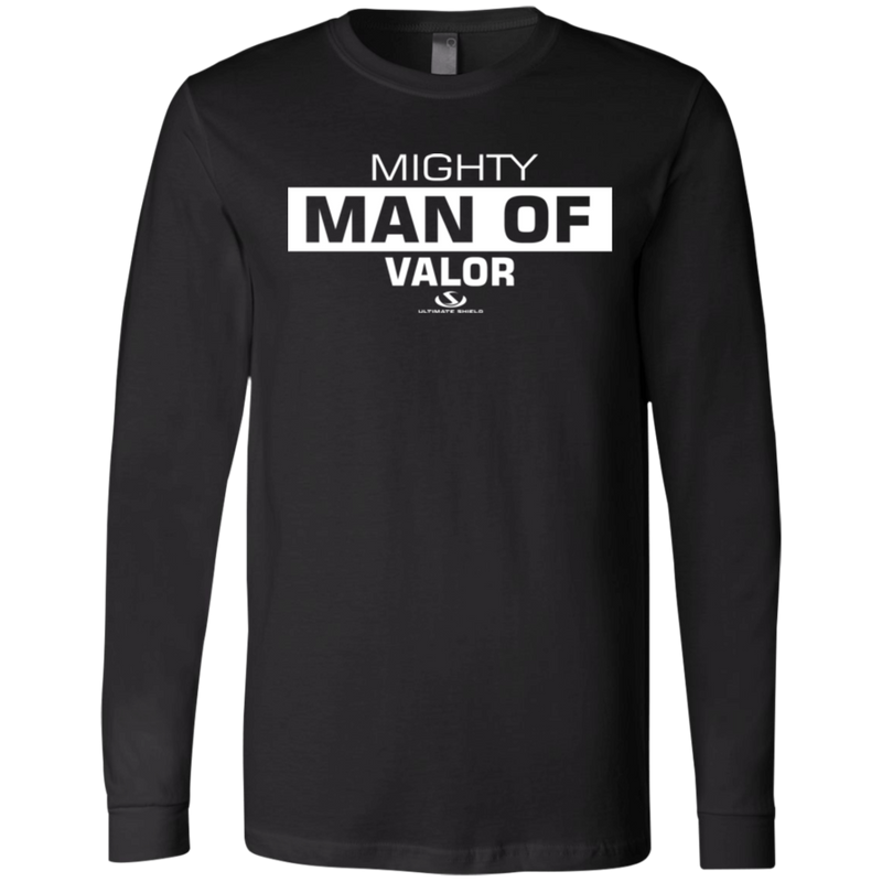 MIGHTY MAN OF VALOR Men's Jersey LS T-Shirt
