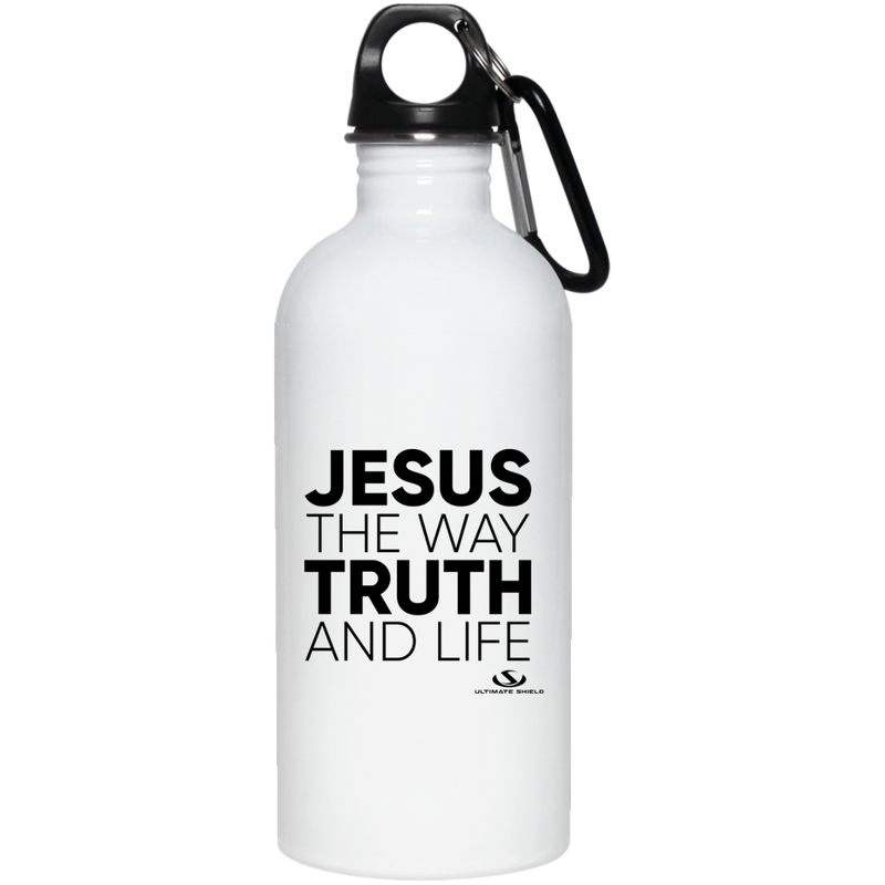 JESUS THE WAY THE TRUTH AND THE LIFE 20 oz. Stainless Steel Water Bottle
