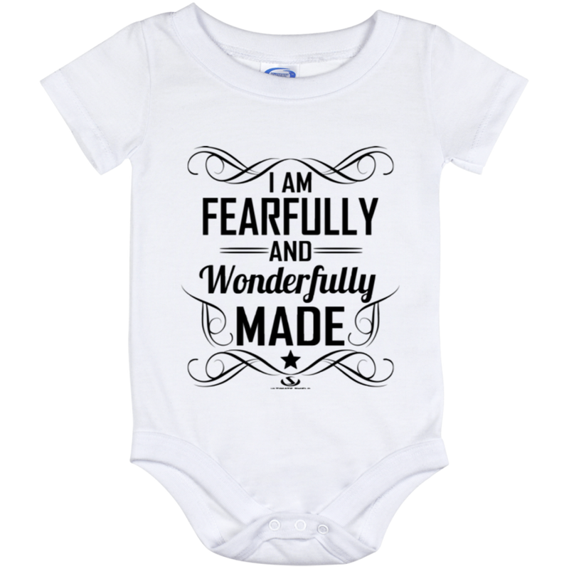 I AM FEARFULLY AND WONDERFULLY MADE Onesie 12 Month