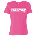 RENEWED Ladies' Relaxed Jersey Short-Sleeve T-Shirt