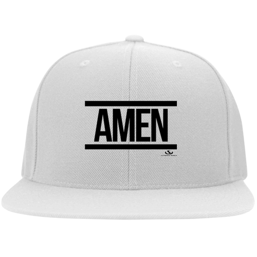 AMEN Flat Bill Twill Flexfit Cap