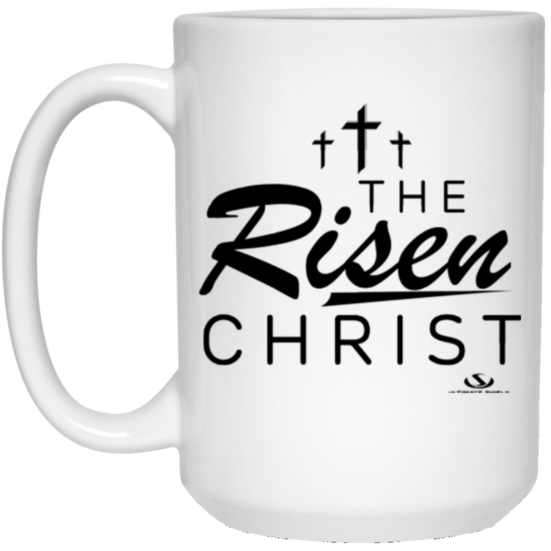 THE RISEN CHRIST 15 oz. White Mug