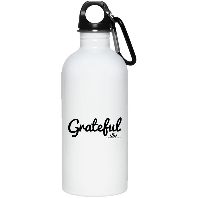GRATEFUL 20 oz. Stainless Steel Water Bottle