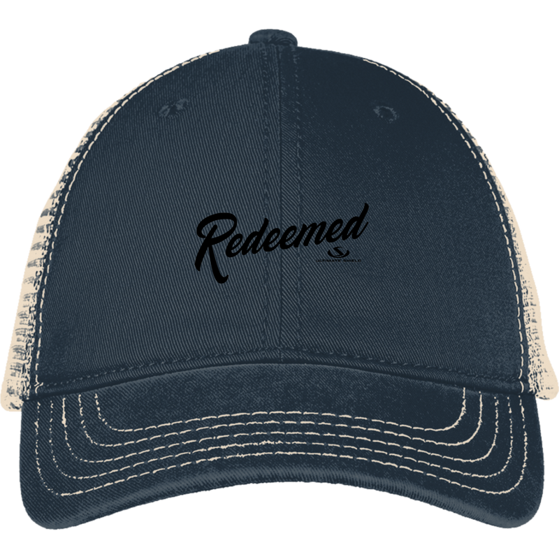 REDEEMED Mesh Back Cap