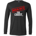SOLD OUT FOR CHRIST  Men's Jersey LS T-Shirt