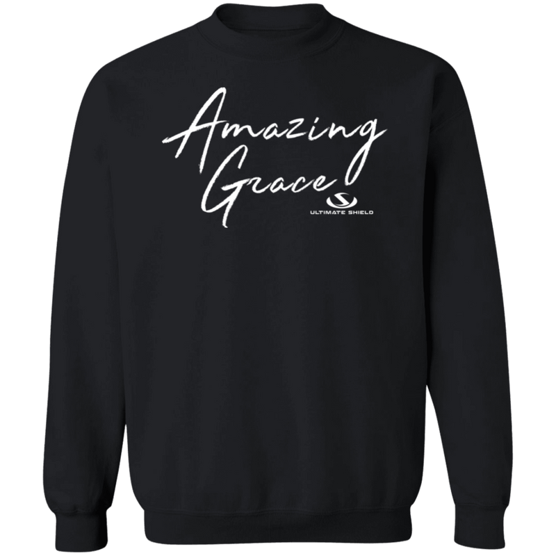 AMAZING GRACE LADIES Crewneck Pullover Sweatshirt  8 oz.