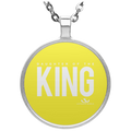 DAUGHTER OF THE KING Circle Necklace