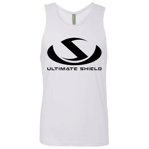 ULTIMATE SHIELD LOGO Men's Cotton Tank