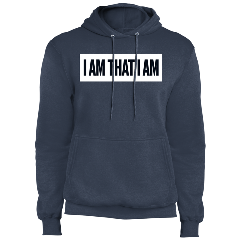 I AM THAT I AM Core Fleece Pullover Hoodie
