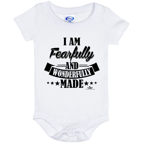 I AM FEARFULLY AND WONDERFULLY MADE Onesie 6 Month