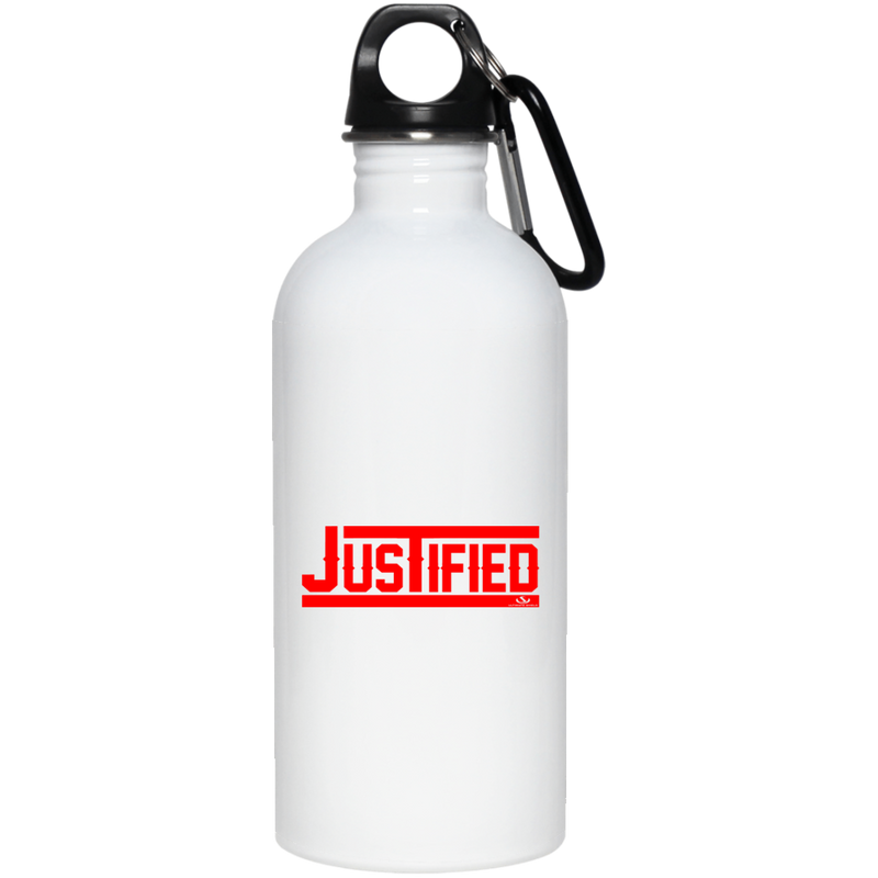 JUSTIFIED 20 oz. Stainless Steel Water Bottle