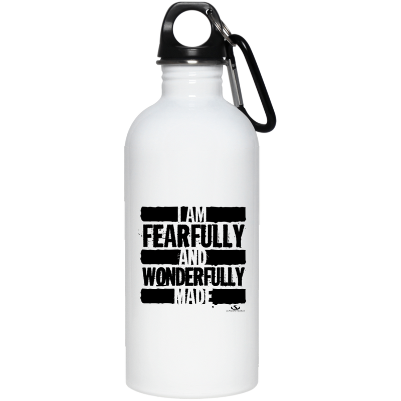 I AM FEARFULLY AND WONDERFULLY MADE 20 oz. Stainless Steel Water Bottle