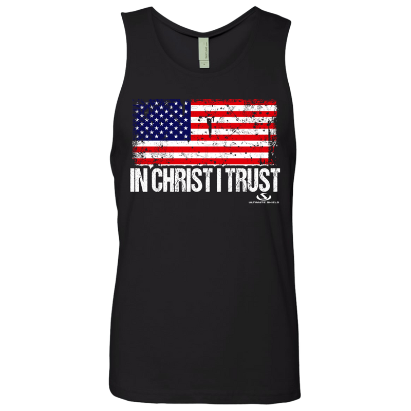 IN CHRIST I TRUST Men's Cotton Tank