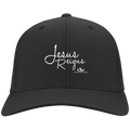 JESUS REIGNS Dry Zone Nylon Cap