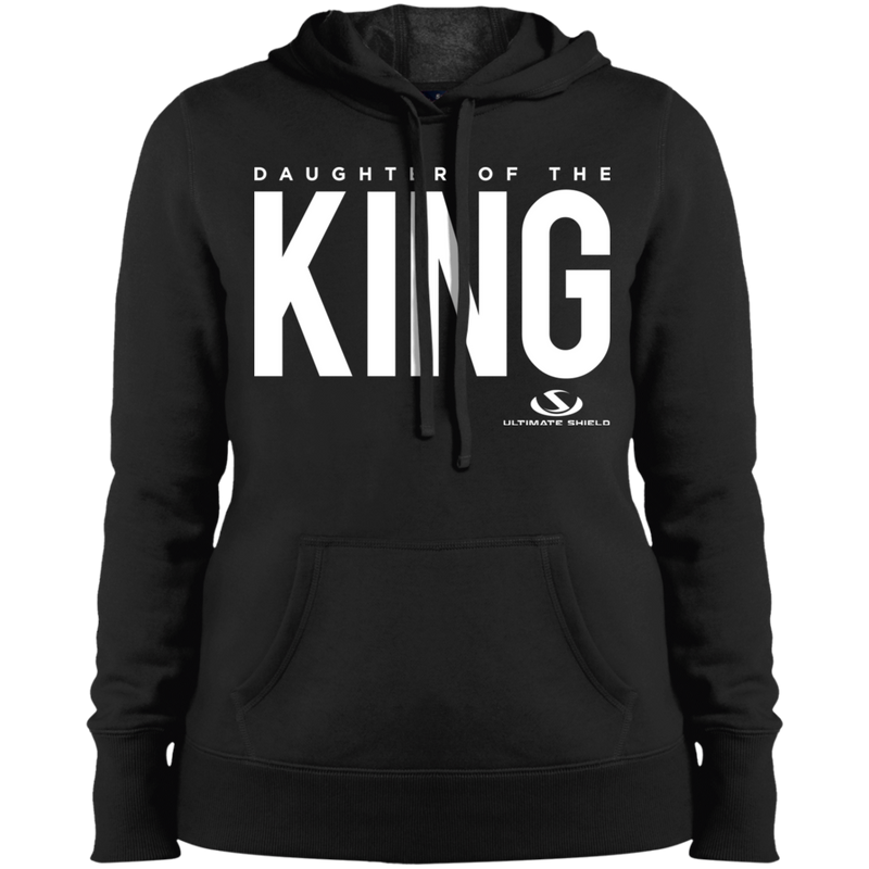 DAUGHTER OF THE KING Ladies' Pullover Hooded Sweatshirt