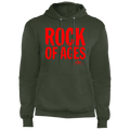 ROCK OF AGES Fleece Pullover Hoodie