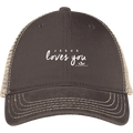 JESUS LOVES YOU Mesh Back Cap
