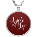 APPLE OF GODS EYE Circle Necklace