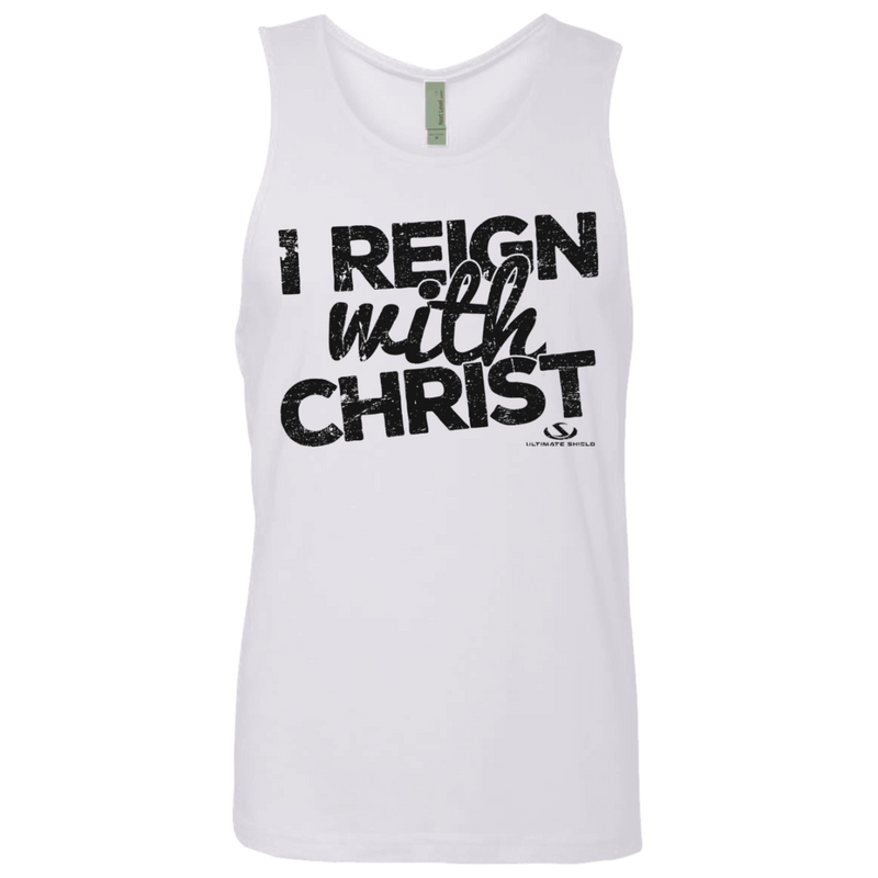 I REIGN WITH CHRIST Men's Cotton Tank
