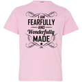 I AM FEARFULLY AND WONDERFULLY MADE Youth Jersey T-Shirt