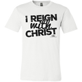 I REIGN WITH CHRIST Jersey Short-Sleeve T-Shirt