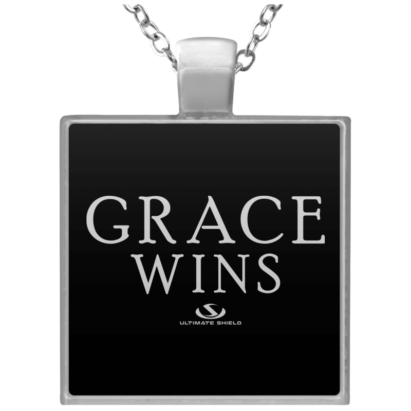 GRACE WINS Square Necklace