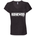 RENEWED Ladies' Jersey V-Neck T-Shirt