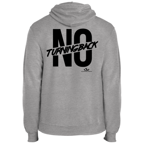 NO TURNING BACK Fleece Pullover Hoodie