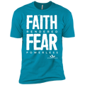 FAITH RENDERED FEAR POWERLESS Premium Short Sleeve T-Shirt